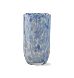 Tag Light Blue Glass Tumbler