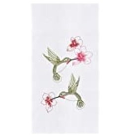 C&F Enterprise Hummingbird Flower Dish Towel