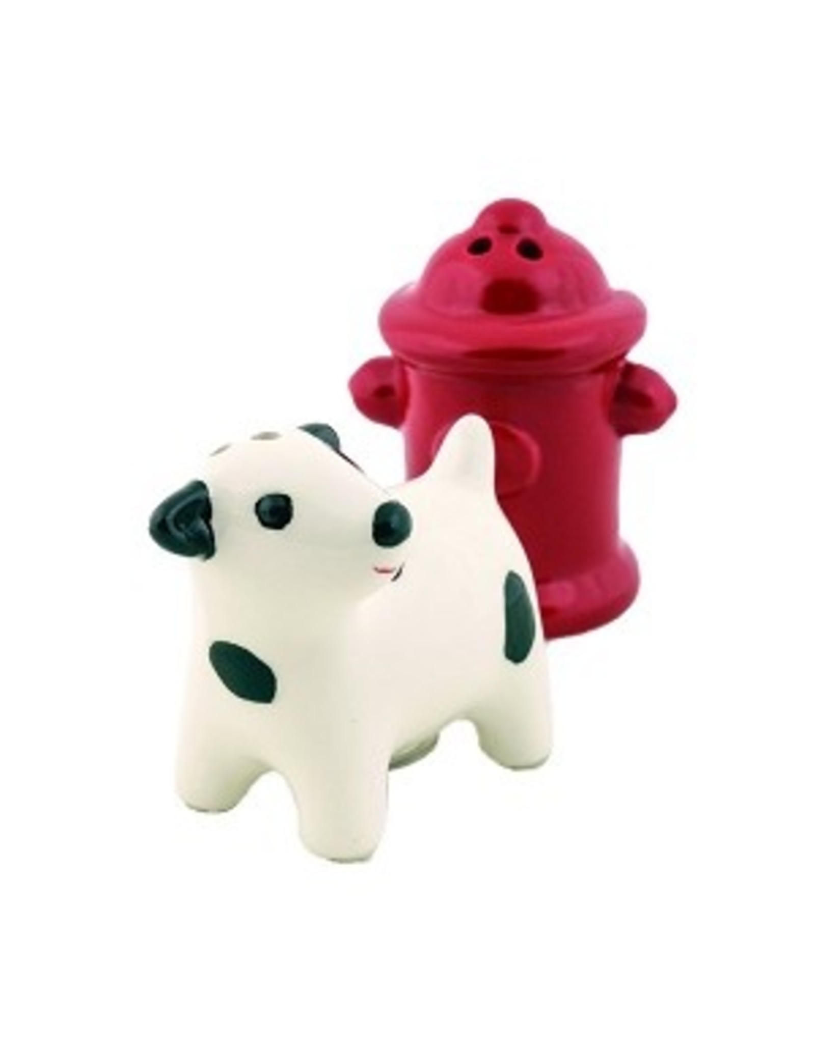 DII Dog and Hydrant Salt & Pepper Shakers