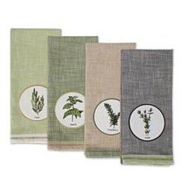 DII Herbal Embellished Dish Towel