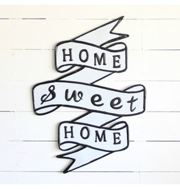 """""""Home Sweet Home Sign"""" Metal Sign"""