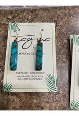 Tagua 1E102 Amazon Earrings