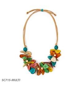 Tagua Multi Mariposa Necklace