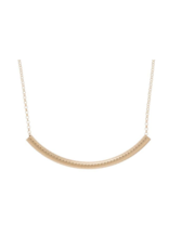 """ENewton Gold Beaded Bliss Necklace 16"""""""