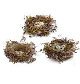 K&K Interiors Nest with Eggs Set