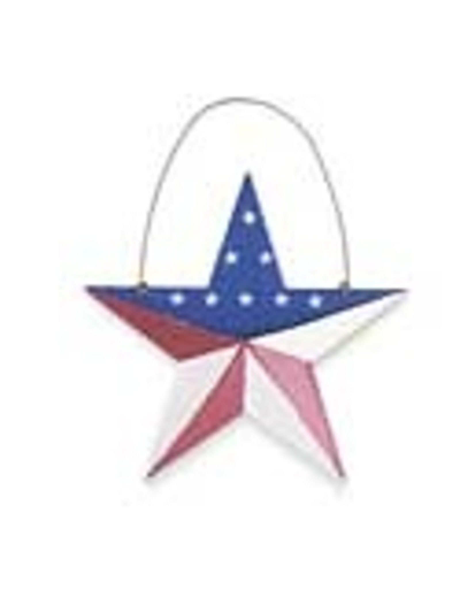K&K Interiors Metal American Star 6""