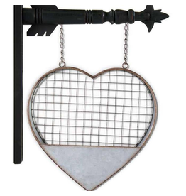 K&K Interiors Metal Heart Arrow Replacement