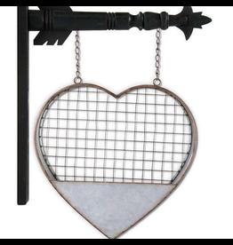 K&K Interiors Metal Heart Arrow Replacement