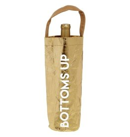 """""""Bottoms Up"""" Wine Tote"""