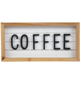 Coffee Tabletop Sign