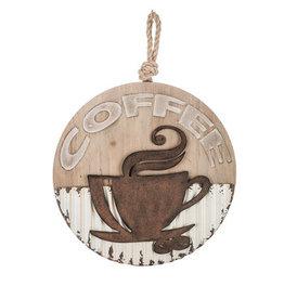 Round Coffee Wall Decor