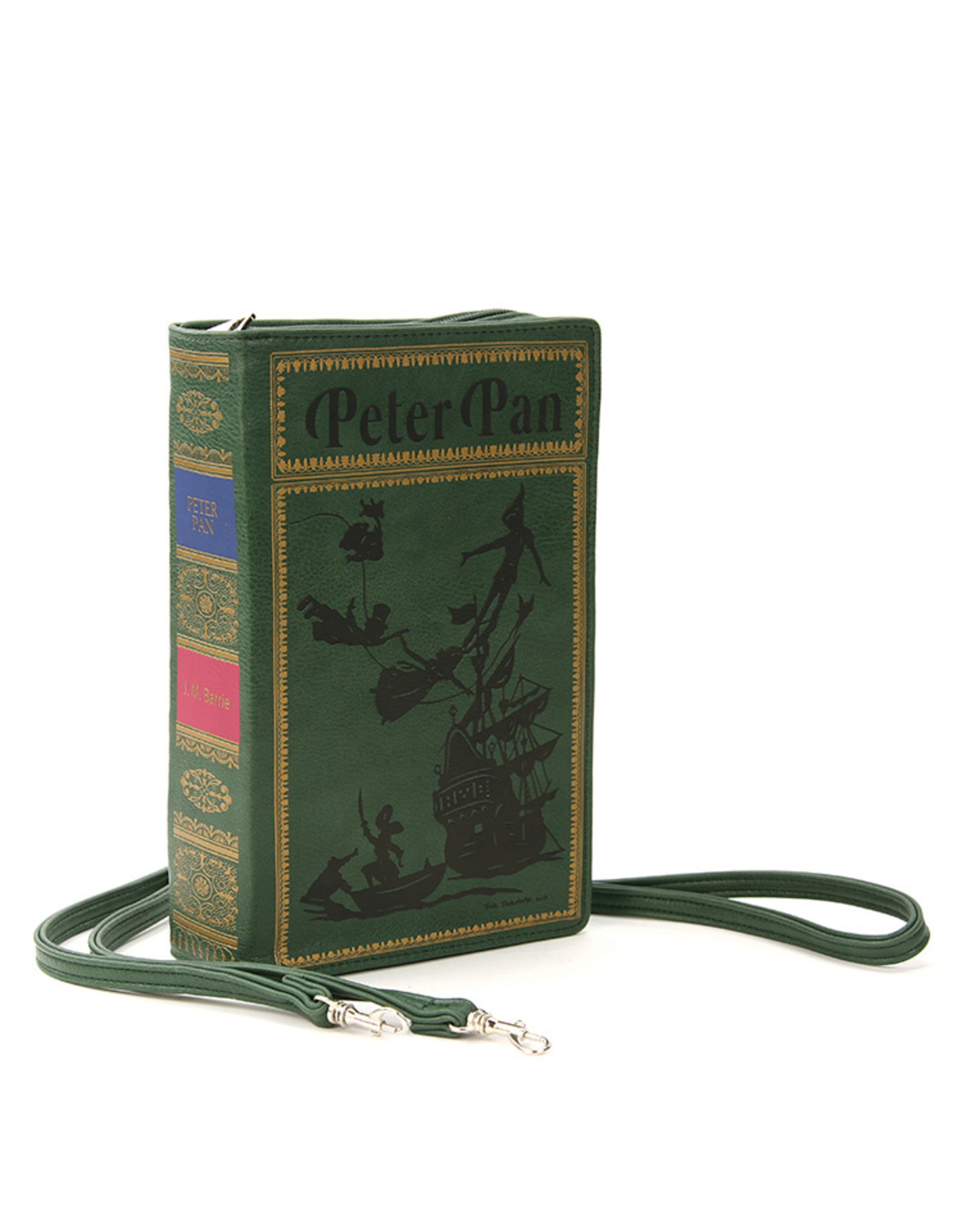 Comeco Inc. Peter Pan Book Clutch