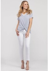 Tribal Dustblue Striped Shirt