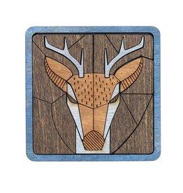 Zoolitiy Deer Puzzle Coasters