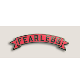 Trixie & Milo Banner Pink Fearless Pin