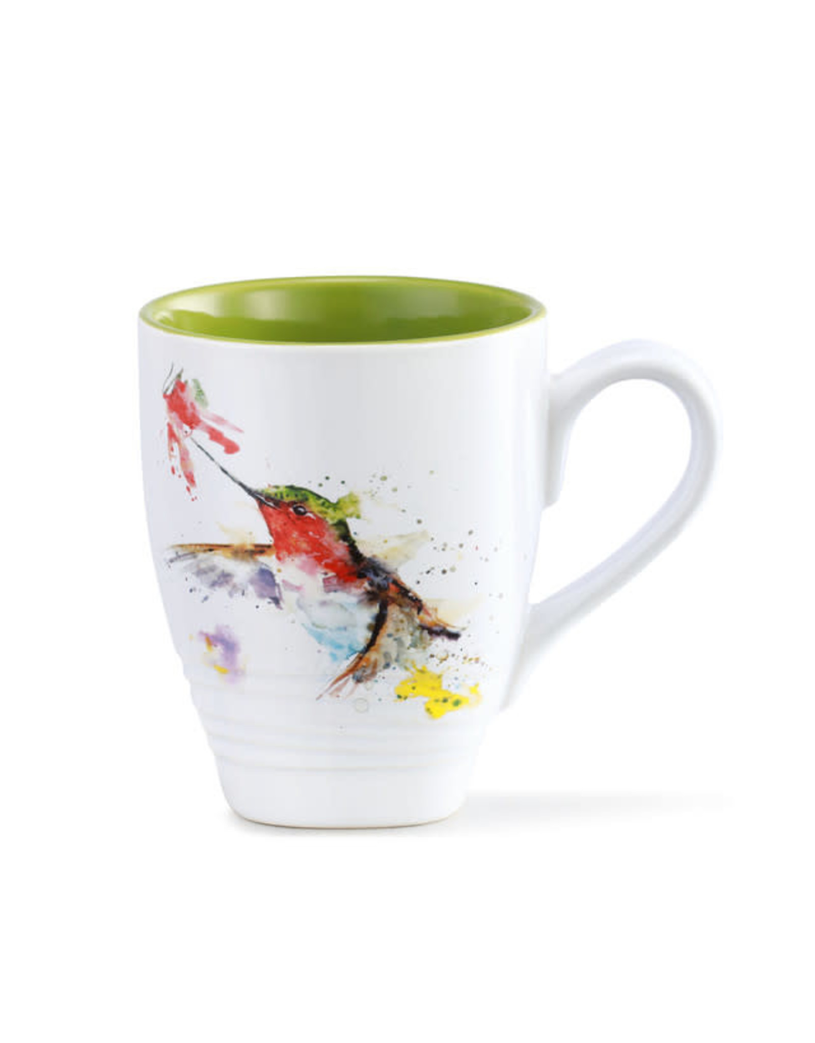Demdaco Hummingbird and Flower Mug