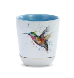 Demdaco Incoming Hummingbird Cup and Trinket Set