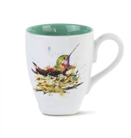 Demdaco Hummingbird In Nest Mug