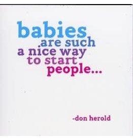 Quotable Babies Quotable Card