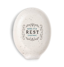 "Demdaco ""Give It A Rest"" Spoon Rest"