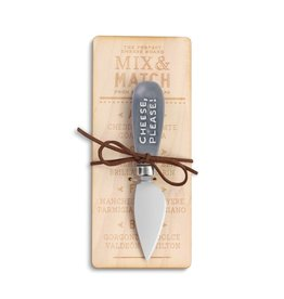 "Demdaco ""Cheese Please"" Cheese Knife"