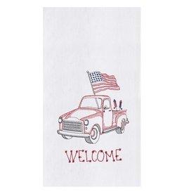 C&F Enterprise Red Truck Towel