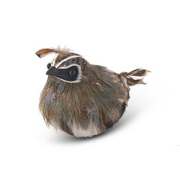 K&K Interiors Sitting Feathered Quail