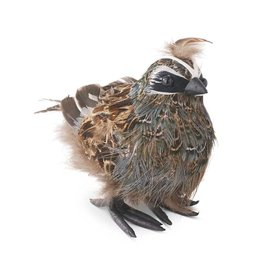 K&K Interiors Standing Feathered Quail