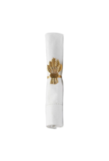 Gold Wheat Napkin Ring