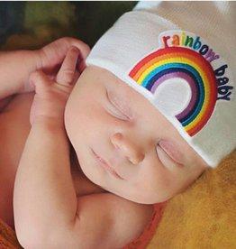 iLYBEAN White Rainbow Baby Beanie