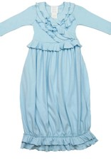 Lemon Loves Layette Jenna Gown in Cinderella Blue