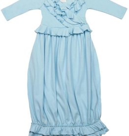 Lemon Loves Layette Jenna Gown in Cinderella Blue