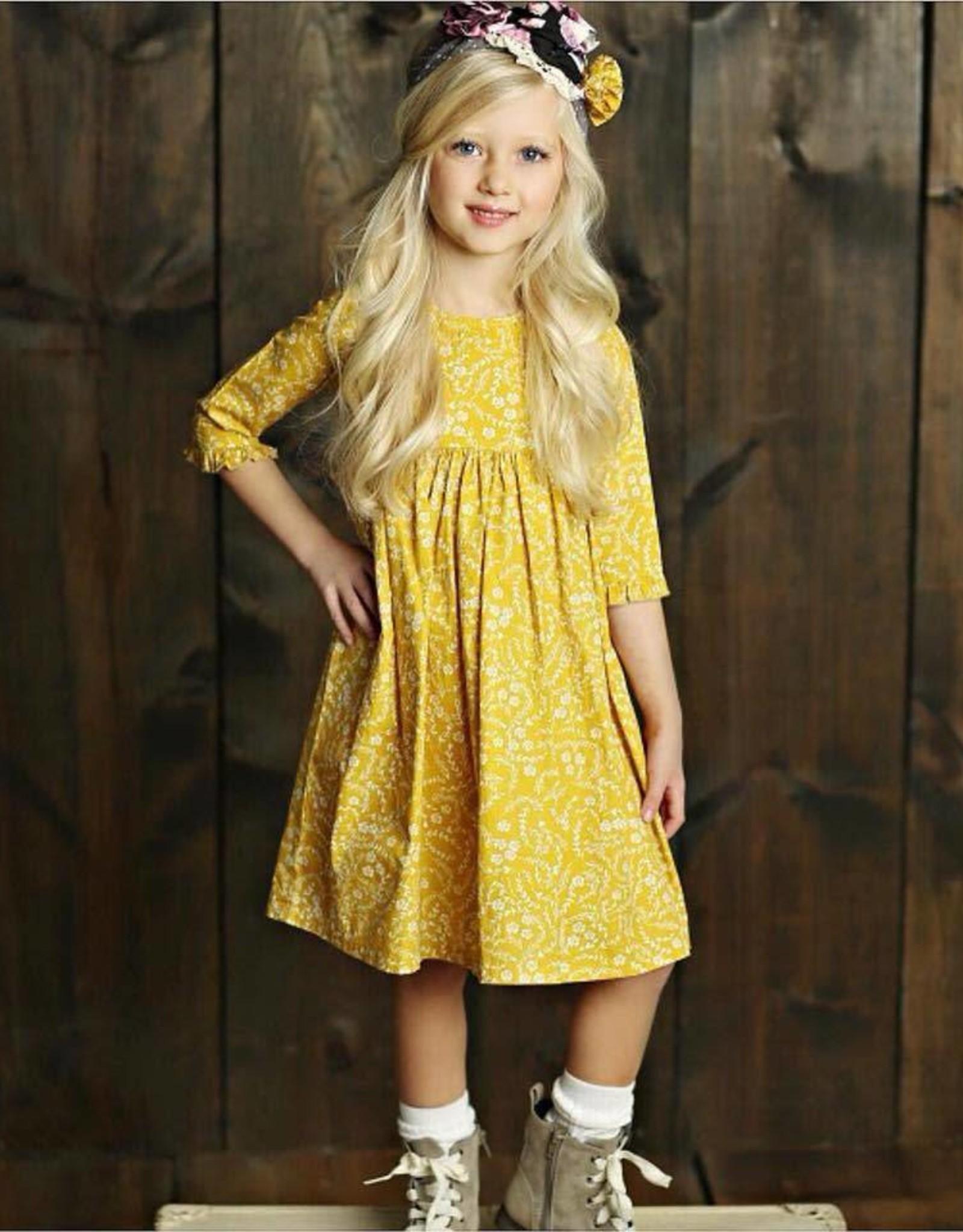 Mustard Pie Vintage Violet Pepper Dress