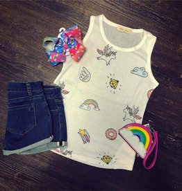 ad8212b7067e Honeydew Unicorn Graphic Tank