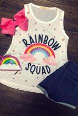 Honeydew Rainbow Squad Tank