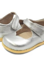 Livie and Luca Astrid in Silver Metallic