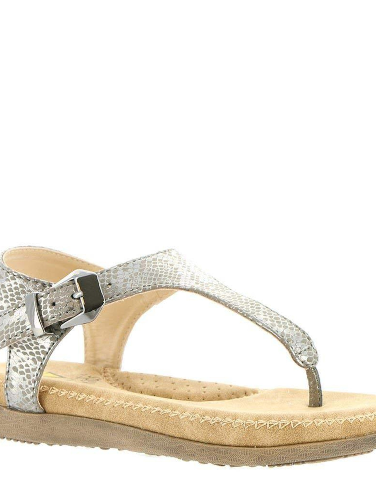 Volatile Amelie Thong Silver