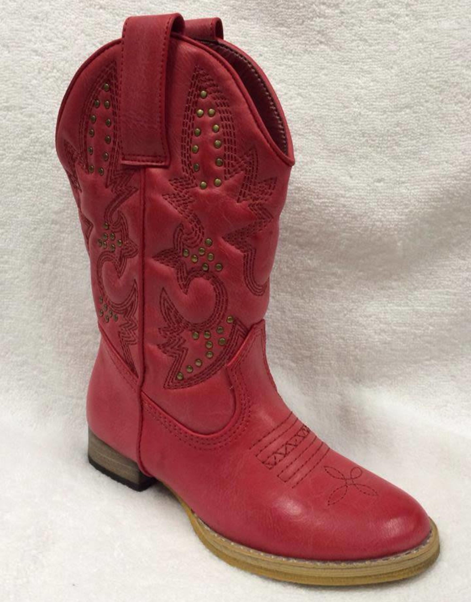 Volatile Grit Boots in Red