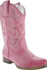 Volatile Grit Boots in Pink