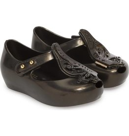Mini Melissa Ultragirl Fly II in Black Petrol