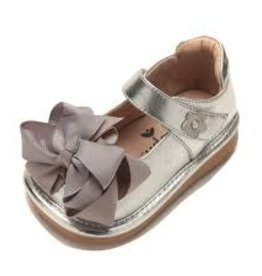 Mooshu Trainers Mary Jane in Silver