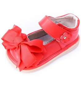 Mooshu Trainers Mary Jane in Red