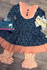 Swanky Baby Vintage Aubrie's Yoke Dress Legging Set