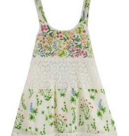 Mimi and Maggie Lace and Flowers Dress