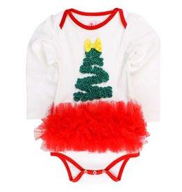 RuffleButts Christmas Tree Tutu