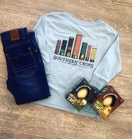 Southern Cross Shotgun Shells in Baby Blue T-Shirt