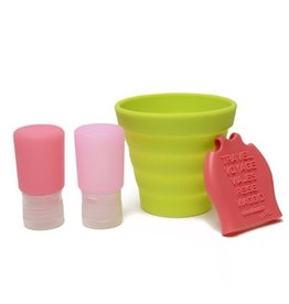 Chewbeads Tubby-To-Go in Pink