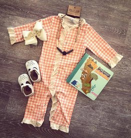 Swanky Baby Vintage Houndstooth Ruffle Layette