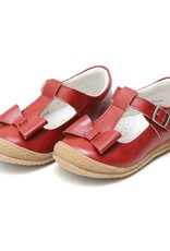 L'AMOUR Emma Autumn Bow T-Strap Mary Jane in Red