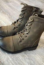 Boutique Olivia Army Boot